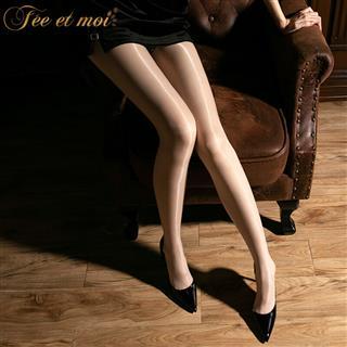 霏慕高密无缝开裆连裤袜 内衣变态床上激情免脱撕丝蕾丝透明丝袜美腿情趣睡衣