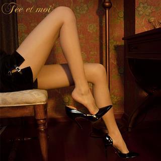 霏慕高密T裆开裆连裤袜 性感透视1D变态秘书可撕情趣长筒床上激情丝袜