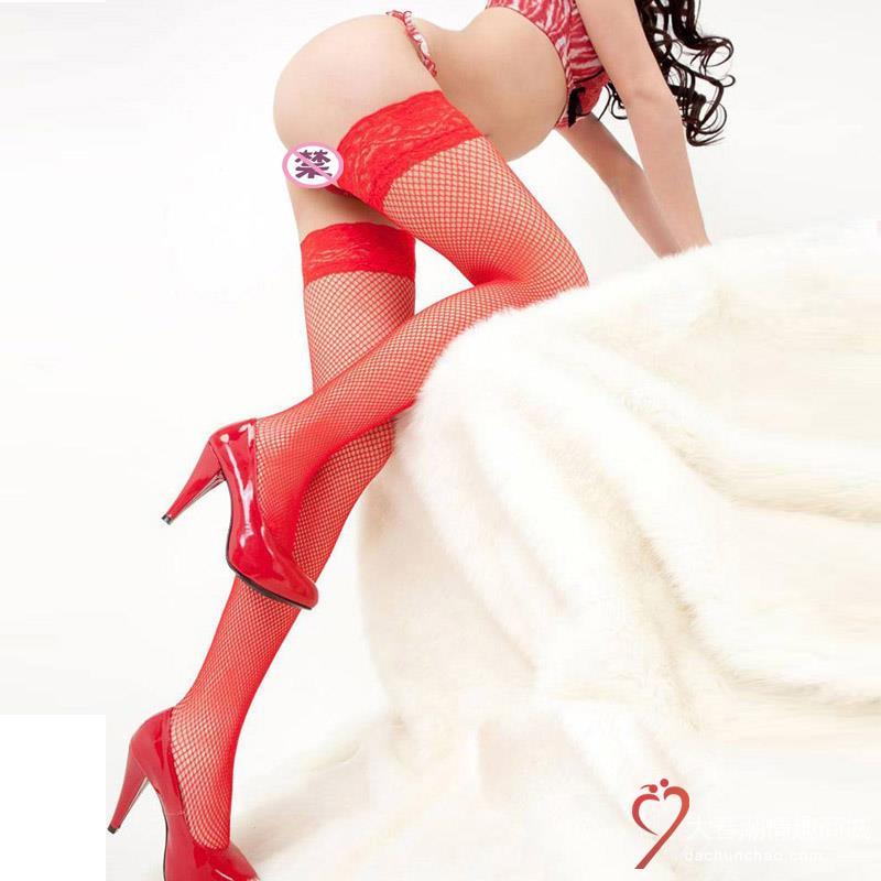 丝袜/网袜性感蕾丝长筒小网袜  丝袜 诱惑