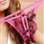 VitaBilla唯它彼乐 炫丽玫瑰红女士情趣性感开档内裤 图片2