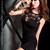 弹力针织奢华秘书镂空性感修身超短包臀裙 图片1