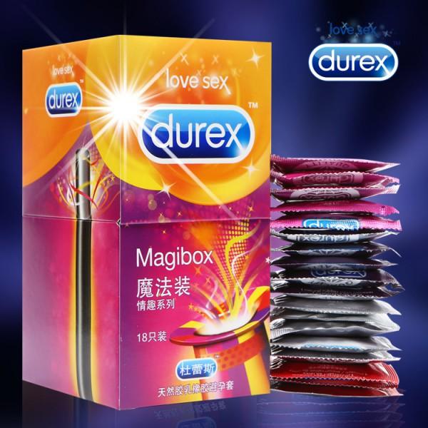 杜蕾斯18只装魔法装情趣系列安全套