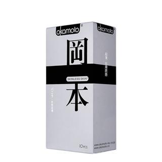 冈本SKIN肤感系列之质感超薄安全套三只装