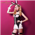 珞樱蕾丝镂空兔女郎制服诱惑 图片3