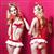 珞樱纯情俏皮风背带式短裙护士制服套装 图片6