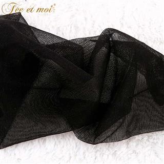 性感丝袜 复古花边硅胶防滑蕾丝长筒袜 情趣内衣