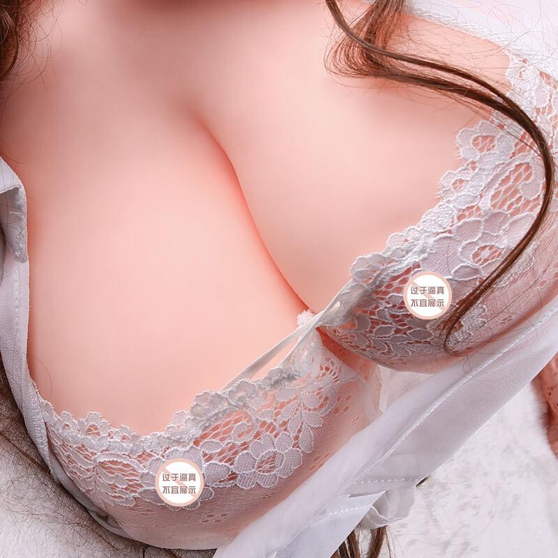 谜姬 软心胸部倒模男用上半身爆乳自慰手淫真人比例成人性用品玩具